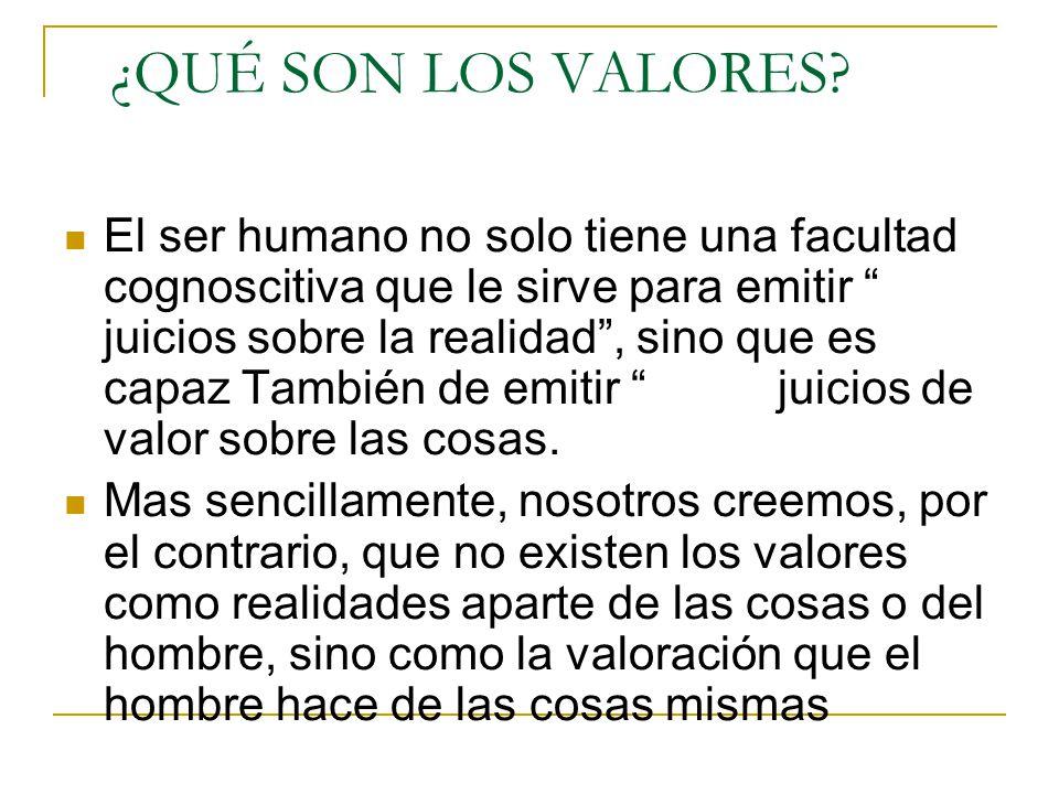 """La presentaci�n """"VALORES HUMANOS Plan Bolonia Universidad de ..."""