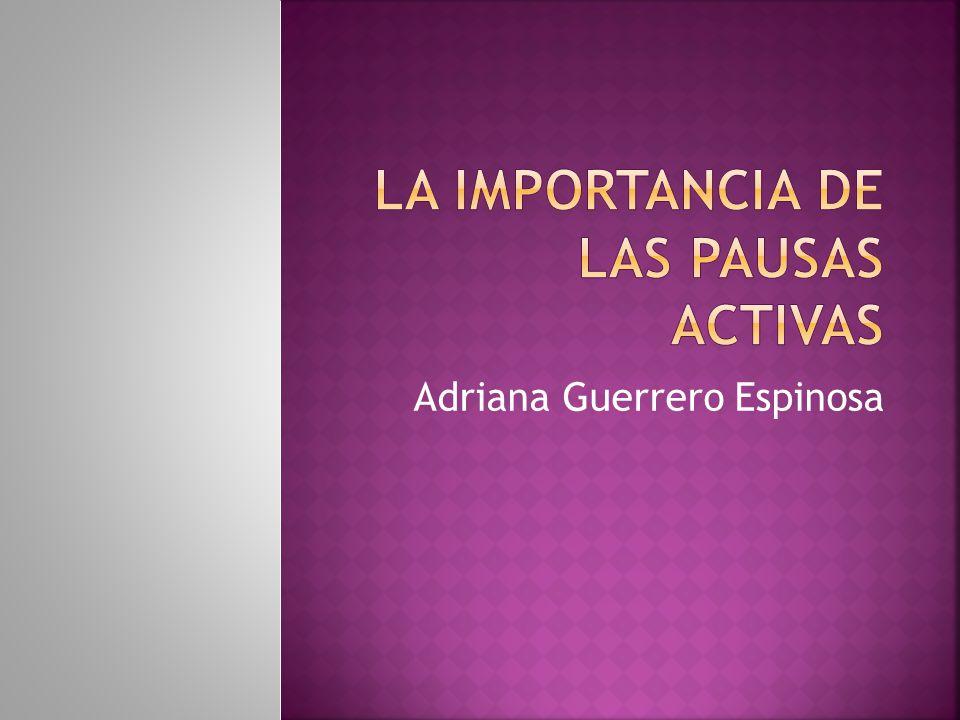 Adriana Guerrero Espinosa