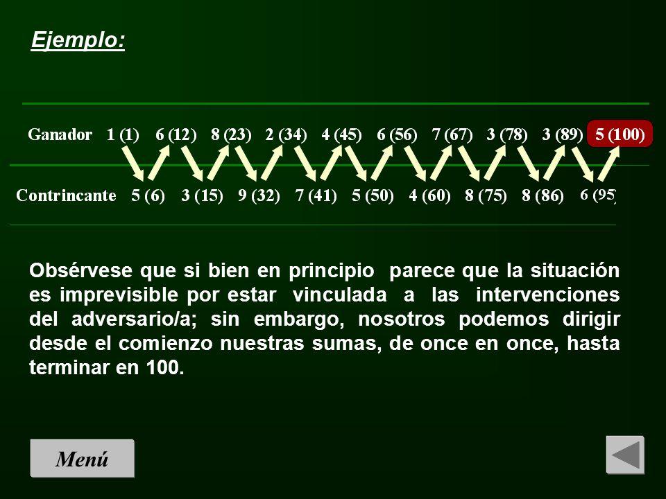 Reglas del juego: Este es un juego en el que dos jugadores/as se dis- putan una moneda que está situada al final de una ruta formada por 31 objetos (ceri- llas, por ejemplo).