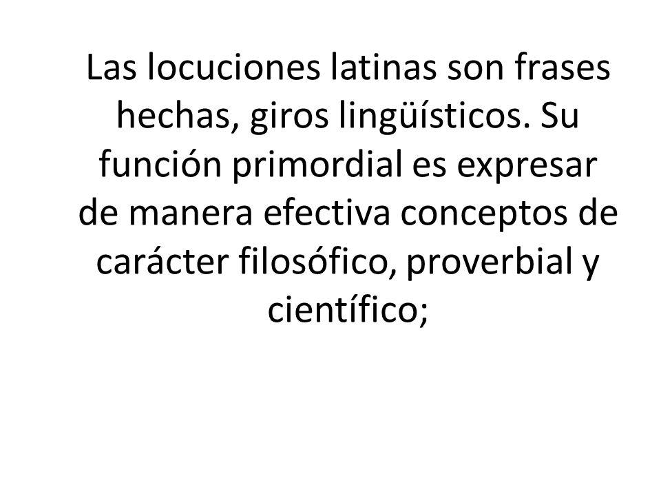 frases latinas: