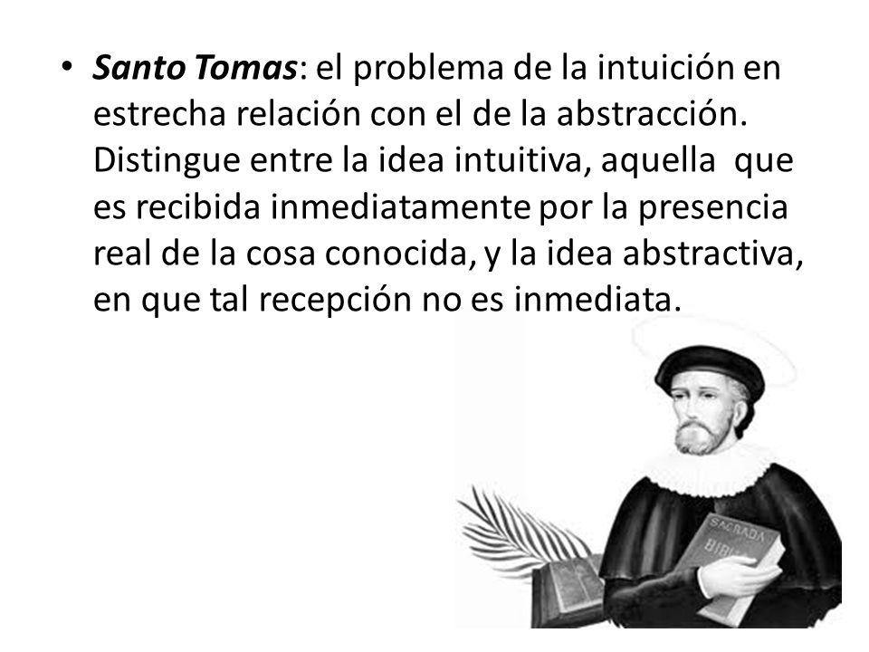 Para Descartes, la intuición es un acto único o simple, a diferencia del discurso, que consiste en una serie o sucesión de actos (del Discurso del Método)
