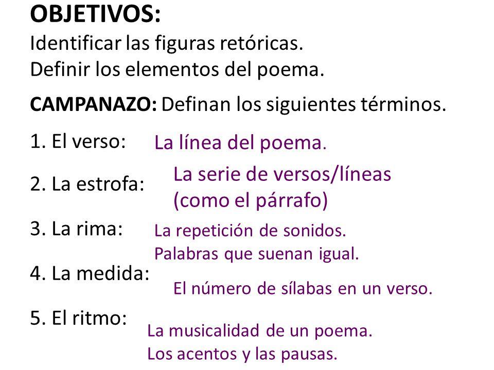 Verso En Poema Con Rima De 5 Estrofas