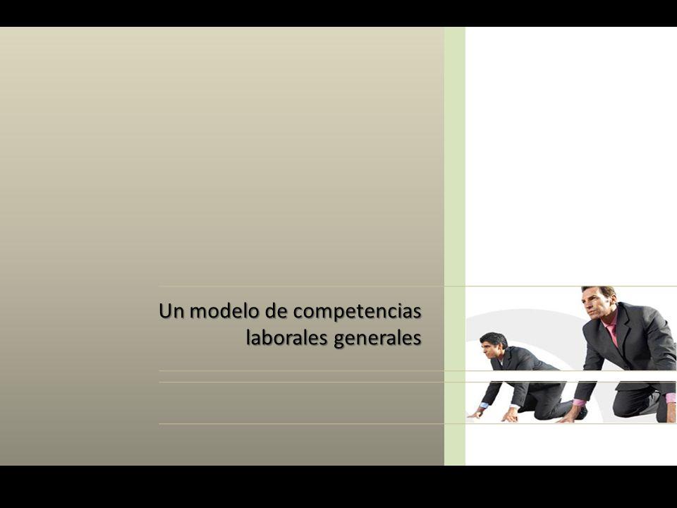 Un modelo de competencias laborales generales