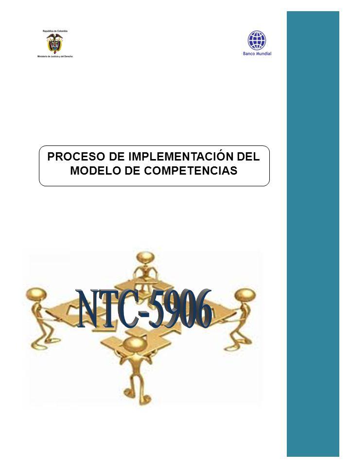 P_05_1 PROCESO DE IMPLEMENTACIÓN DEL MODELO DE COMPETENCIAS PROCESO DE IMPLEMENTACIÓN DEL MODELO DE COMPETENCIAS