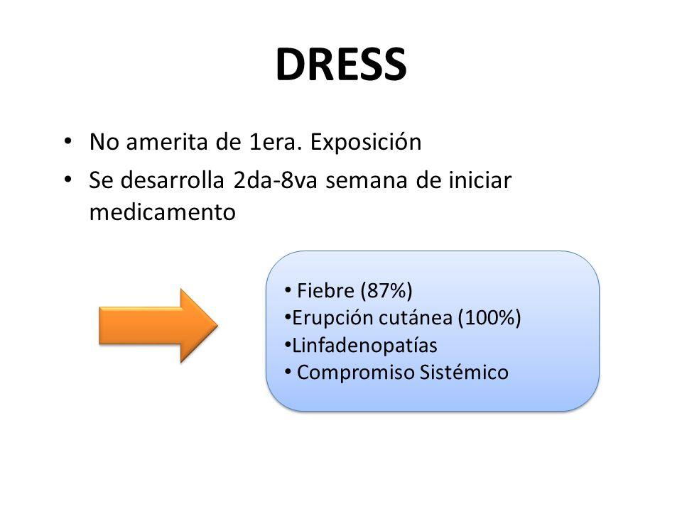 DRESS No amerita de 1era.