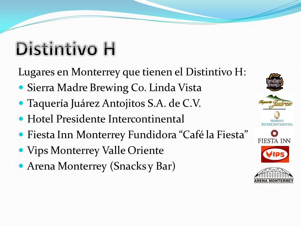 Lugares en Monterrey que tienen el Distintivo H: Sierra Madre Brewing Co.