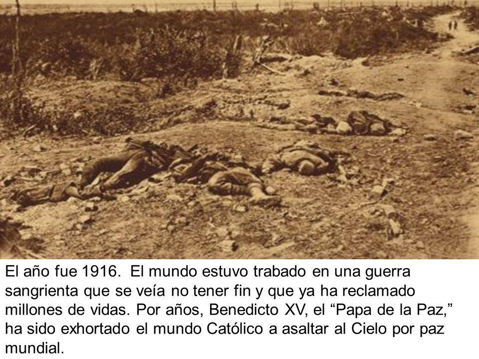 El año fue 1916.