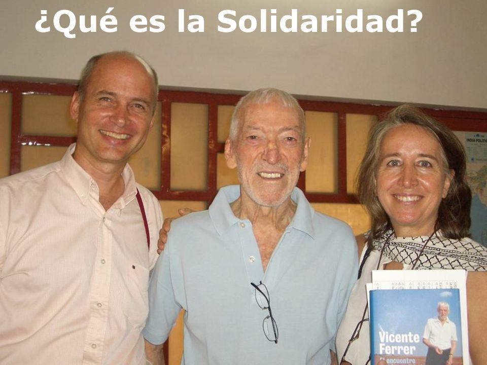 Conectados en el alma ¿Qué es la Solidaridad?