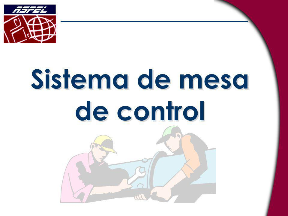 Sistema de mesa de control