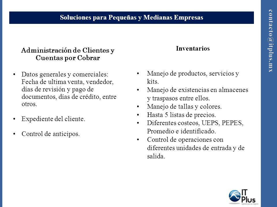 Soluciones para Pequeñas y Medianas Empresas Manejo Fiscal Eficiente control del IVA.
