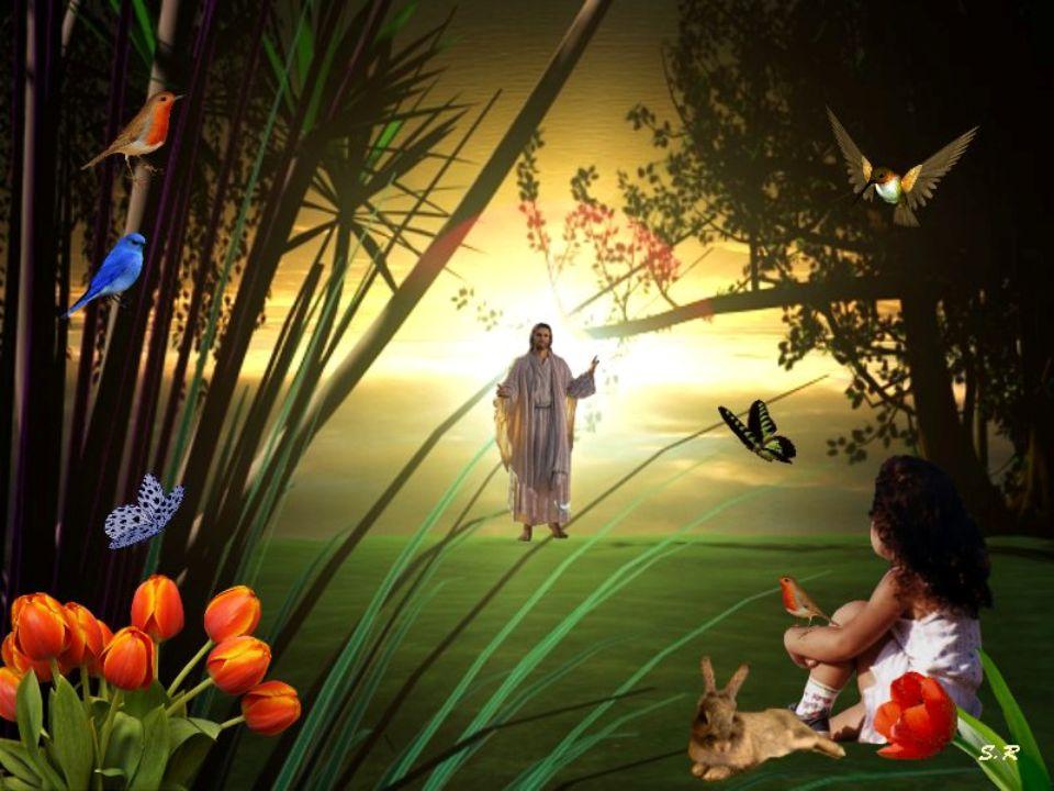 De saber que hay un mañana cada día, por la fe, por la esperanza y el amor. Como no!