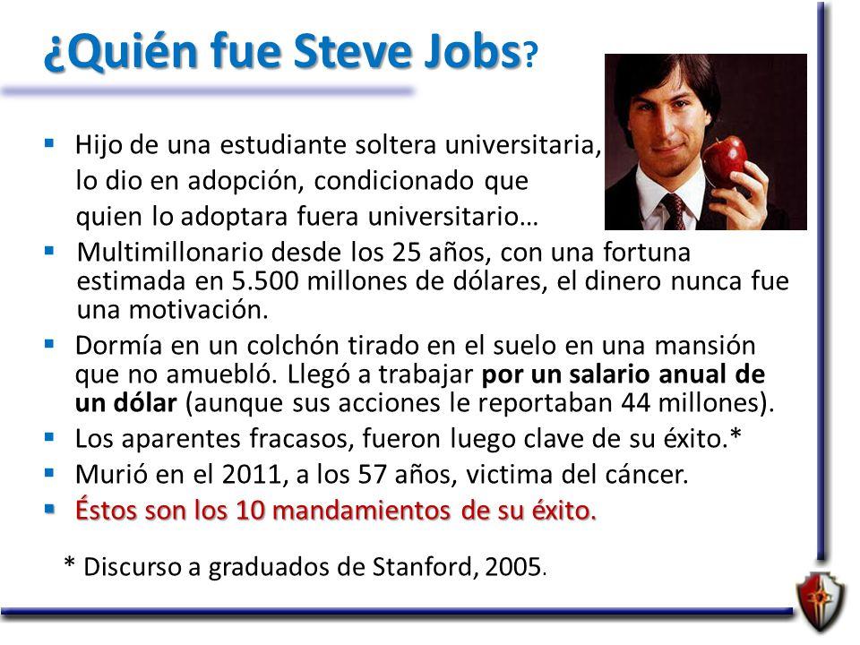 Resultado de imagen para QUE DIA MURIO STEVE JOB