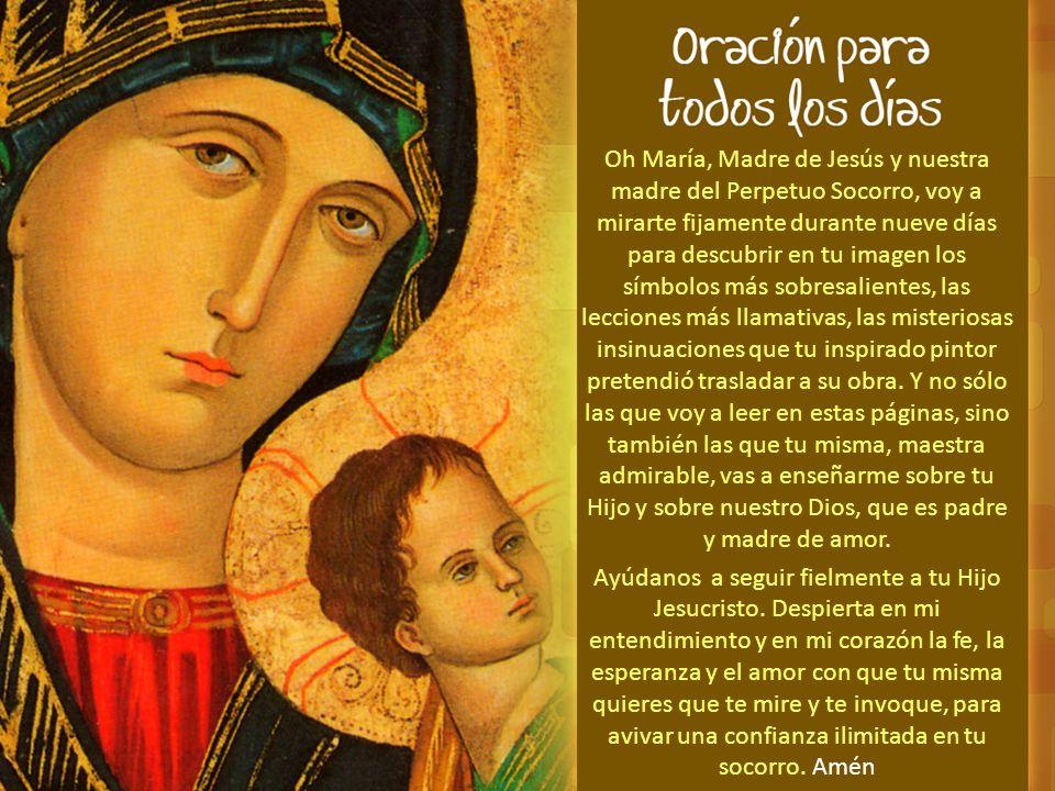 DÍA SEGUNDO Mirando al arcángel Miguel A la derecha, a la altura de tus hombros, se inclina el arcángel san Miguel, jefe de las milicias celestiales, celoso defensor de la gloria del Señor.