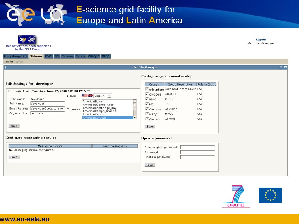 www.eu-eela.eu E-science grid facility for Europe and Latin America