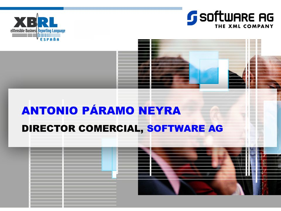 ANTONIO PÁRAMO NEYRA DIRECTOR COMERCIAL, SOFTWARE AG