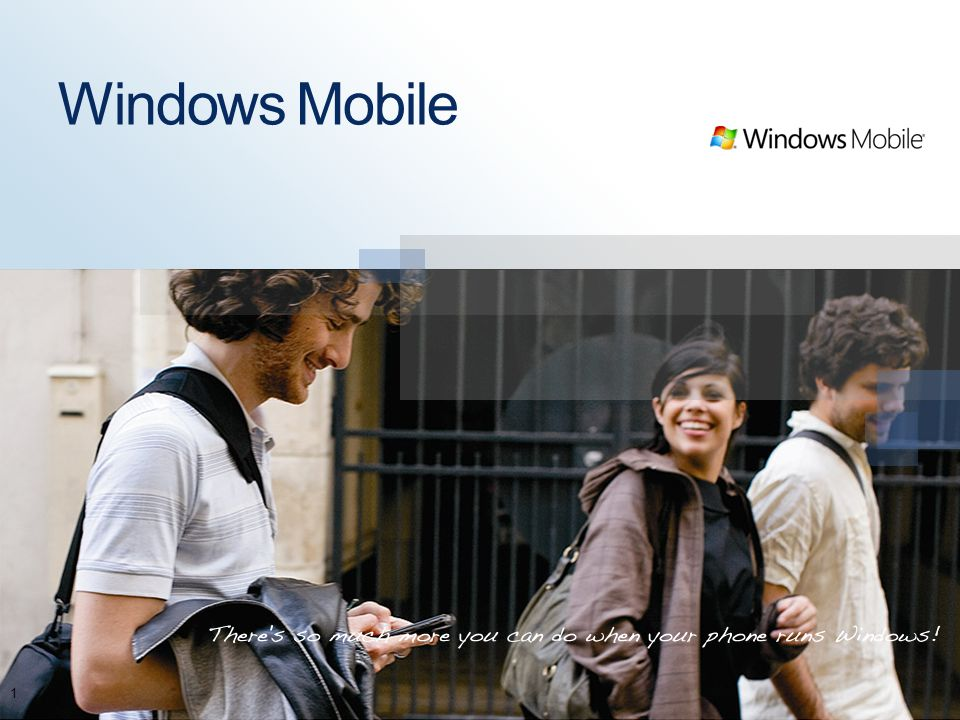 Windows Mobile 1