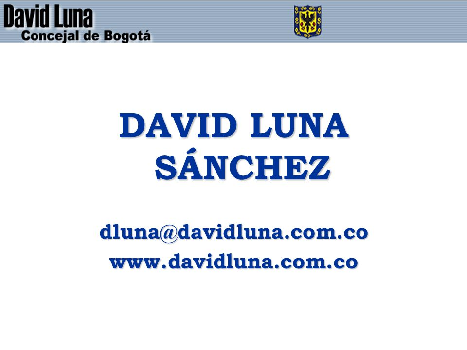 DAVID LUNA SÁNCHEZ