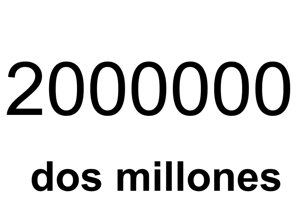 2000000 dos millones