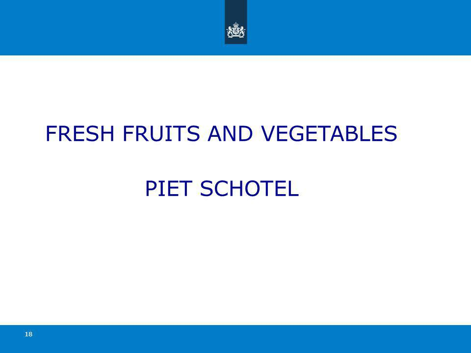 FRESH FRUITS AND VEGETABLES PIET SCHOTEL 18