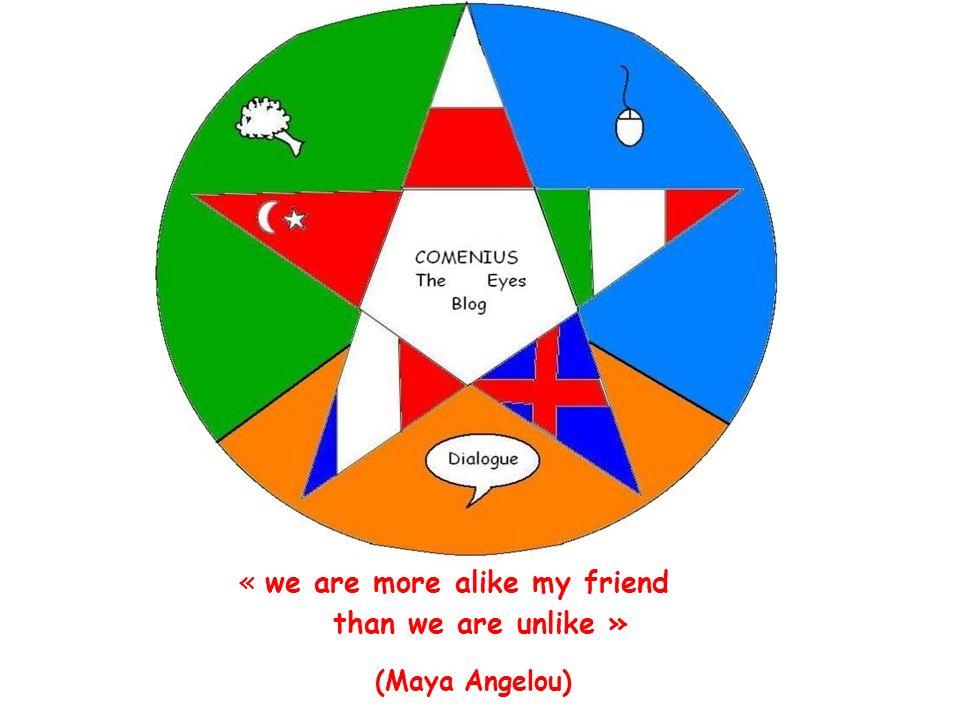 « we are more alike my friend than we are unlike »