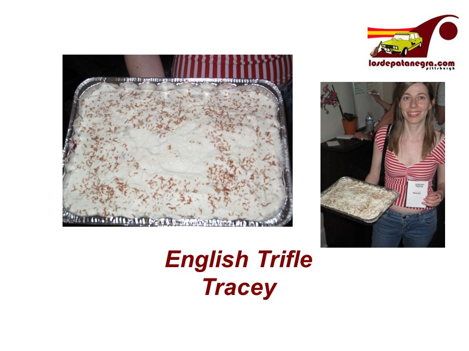 English Trifle Tracey