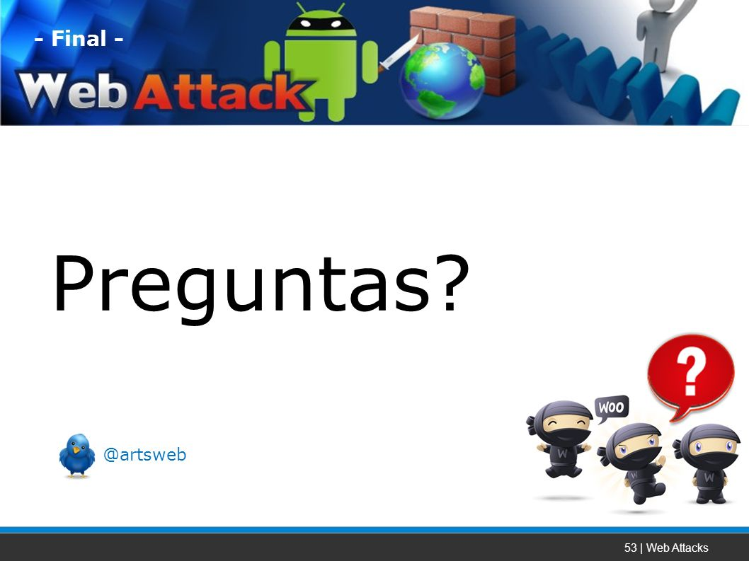 53 | Web Attacks Preguntas - Final