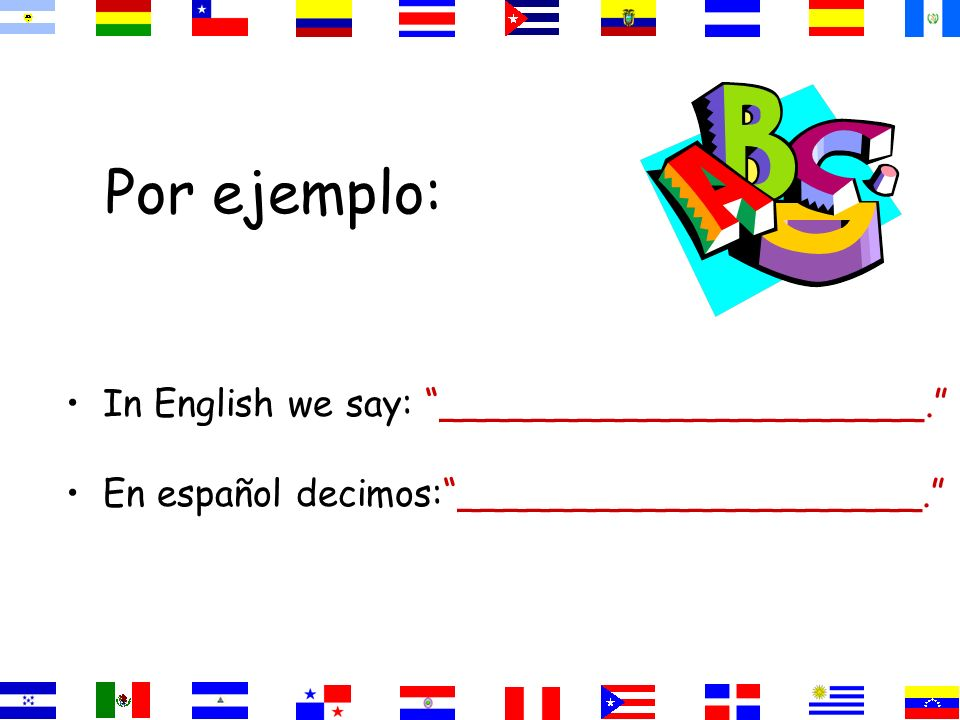 El Verbo GUSTAR En español _________significa ___________ In English, the equivalent is to like