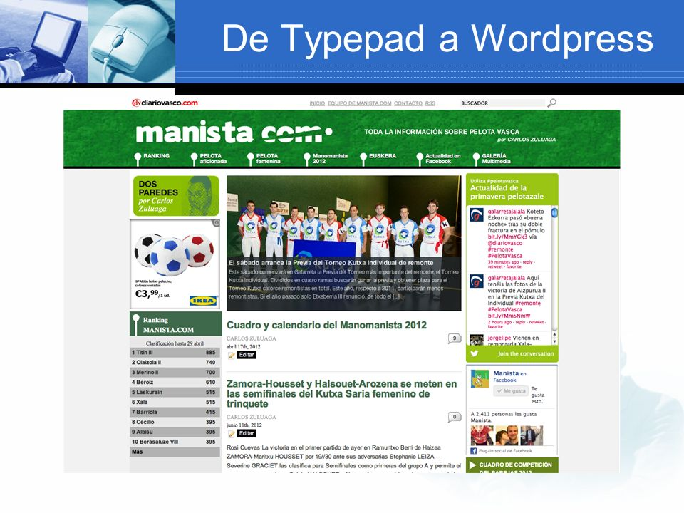 De Typepad a Wordpress