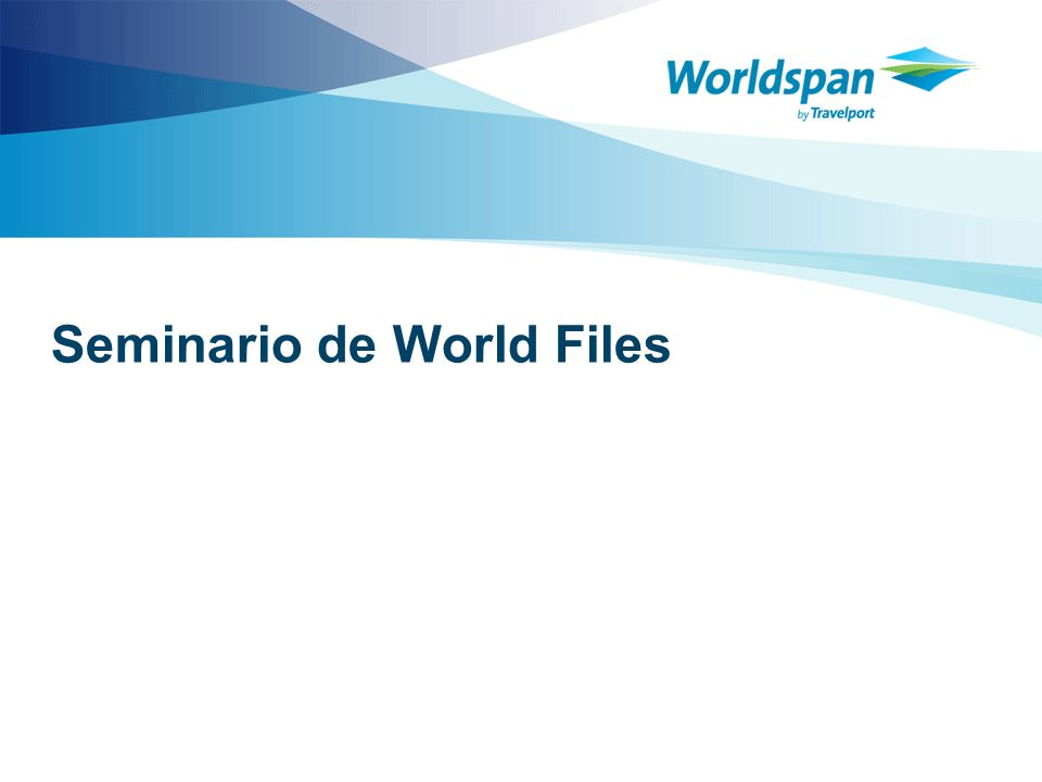 Seminario de World Files