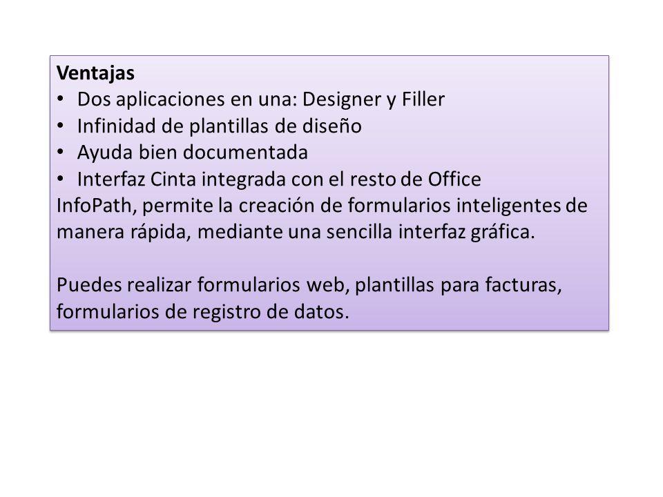 Microsoft InfoPath. Creación y publicación de formularios ...
