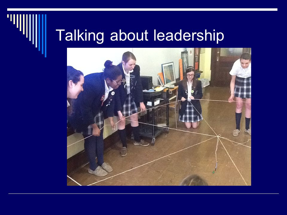 Talking about leadership