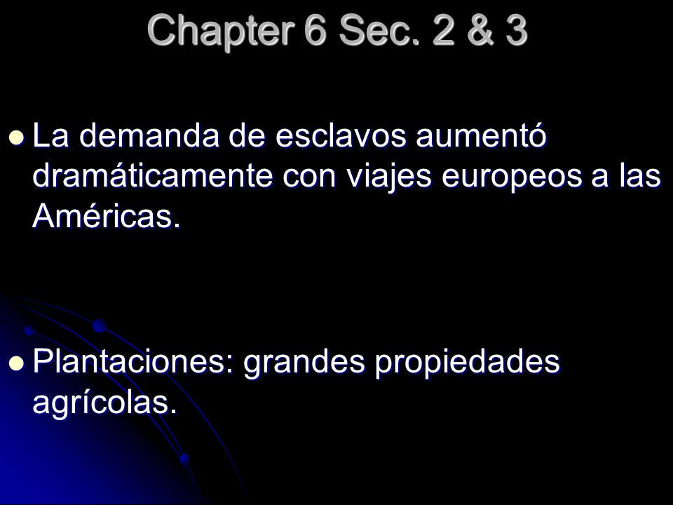 Chapter 6 Sec.