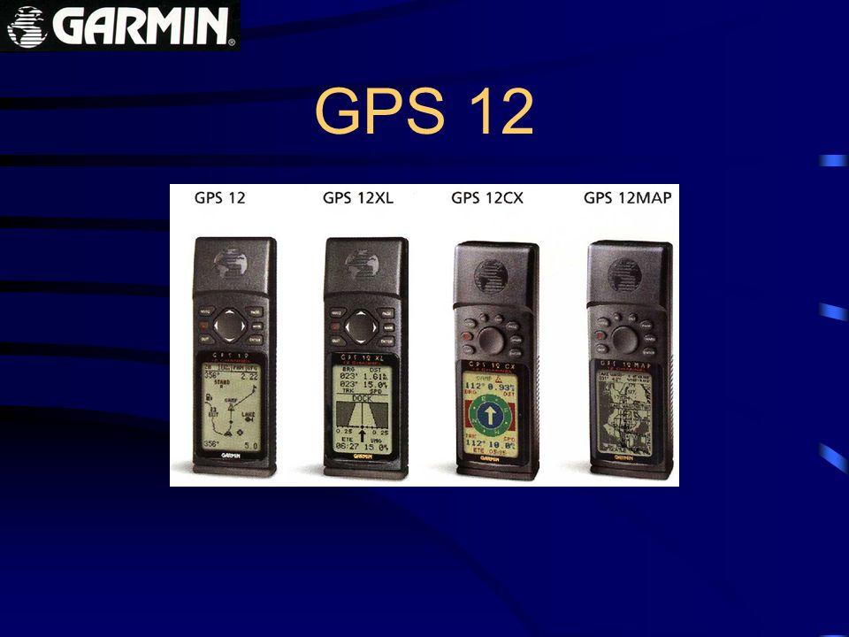 GPS 12  GPS 12 - GARMIN NAVEGACION (IR A   ) ENCENDIDO Y