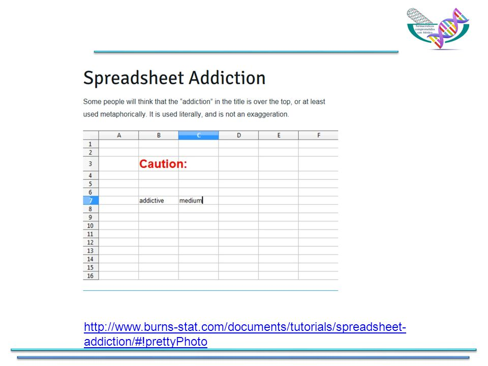 http://www.burns-stat.com/documents/tutorials/spreadsheet- addiction/#!prettyPhoto