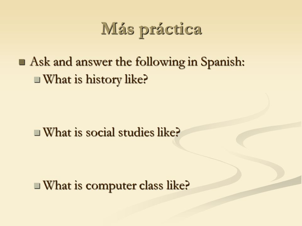 ¿Cómo es…. What is math class like. What is math class like.