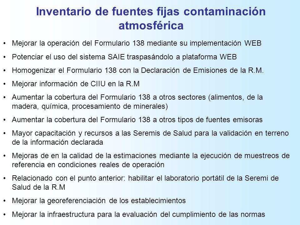 Calidad y Mejoras de la Información del Primer Reporte del Registro ...
