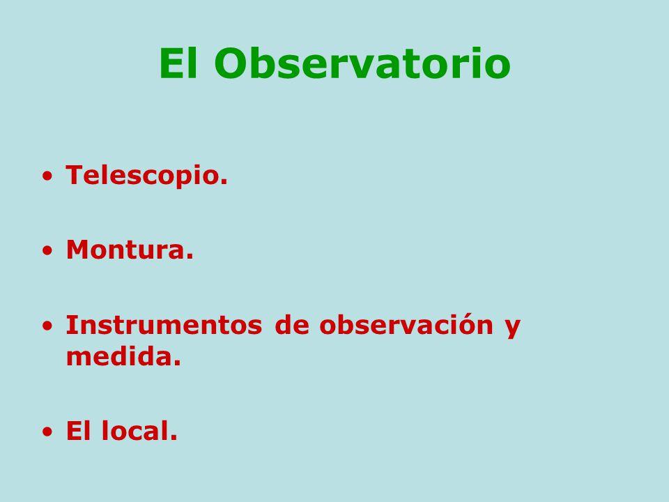 Telescopios e instrumentación astronómica para aficionados Pedro ...