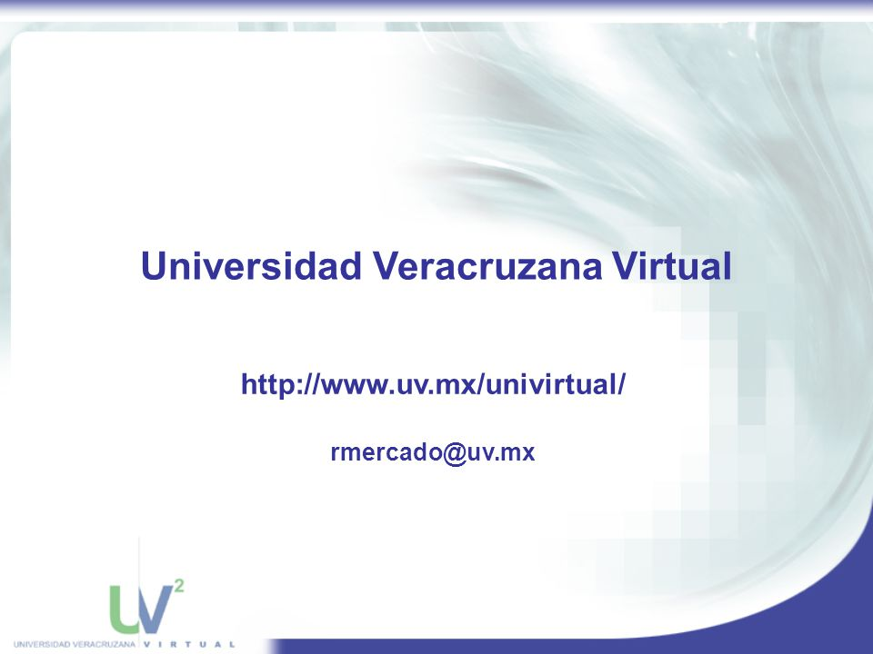 Universidad Veracruzana Virtual