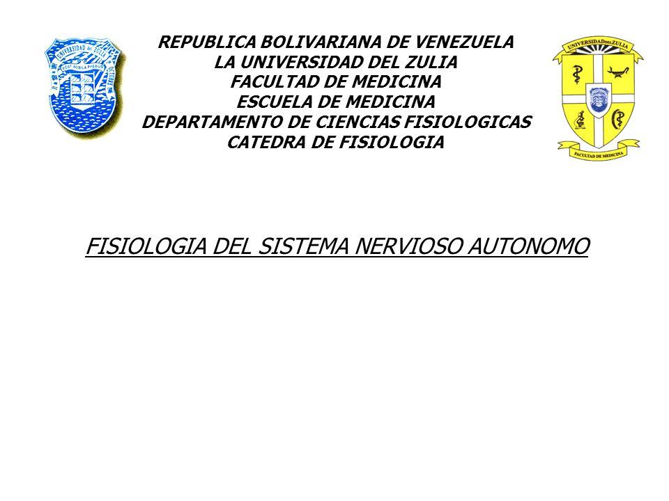 REPUBLICA BOLIVARIANA DE VENEZUELA LA UNIVERSIDAD DEL ZULIA FACULTAD ...