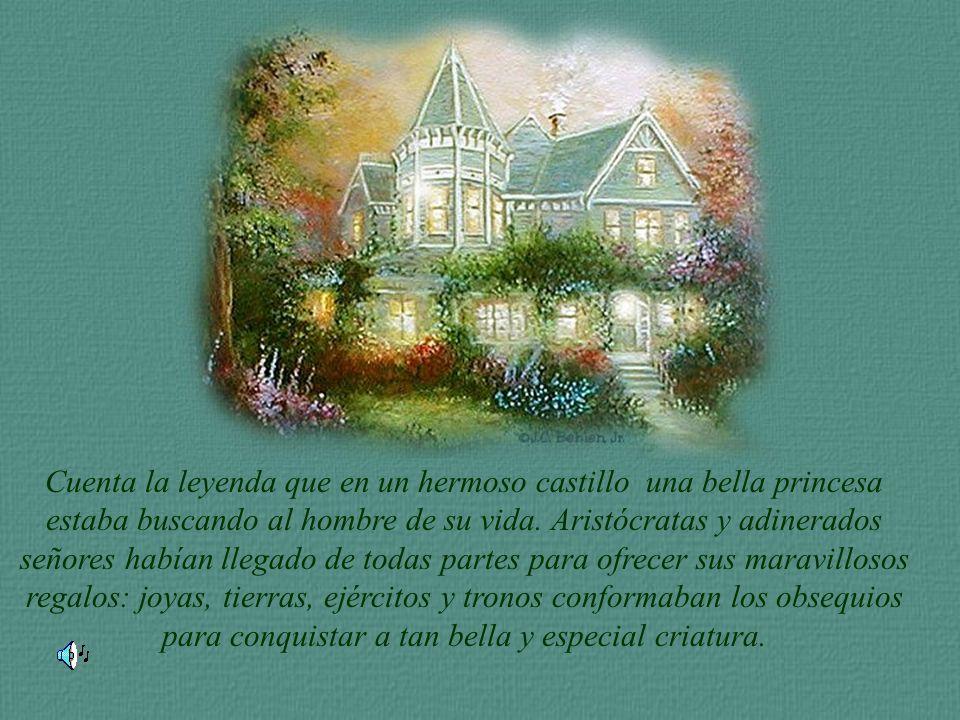 Cuenta la leyenda que en un hermoso castillo una bella princesa ...