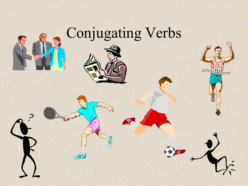 Conjugating Verbs