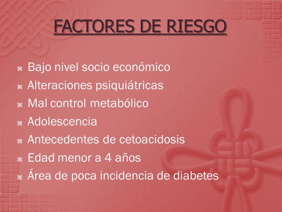 tipo de diabetes descompensacion metabolica