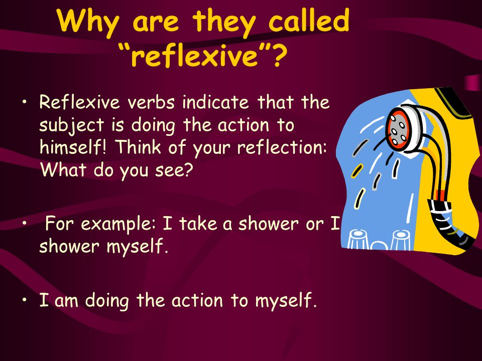 Why are they called reflexive .
