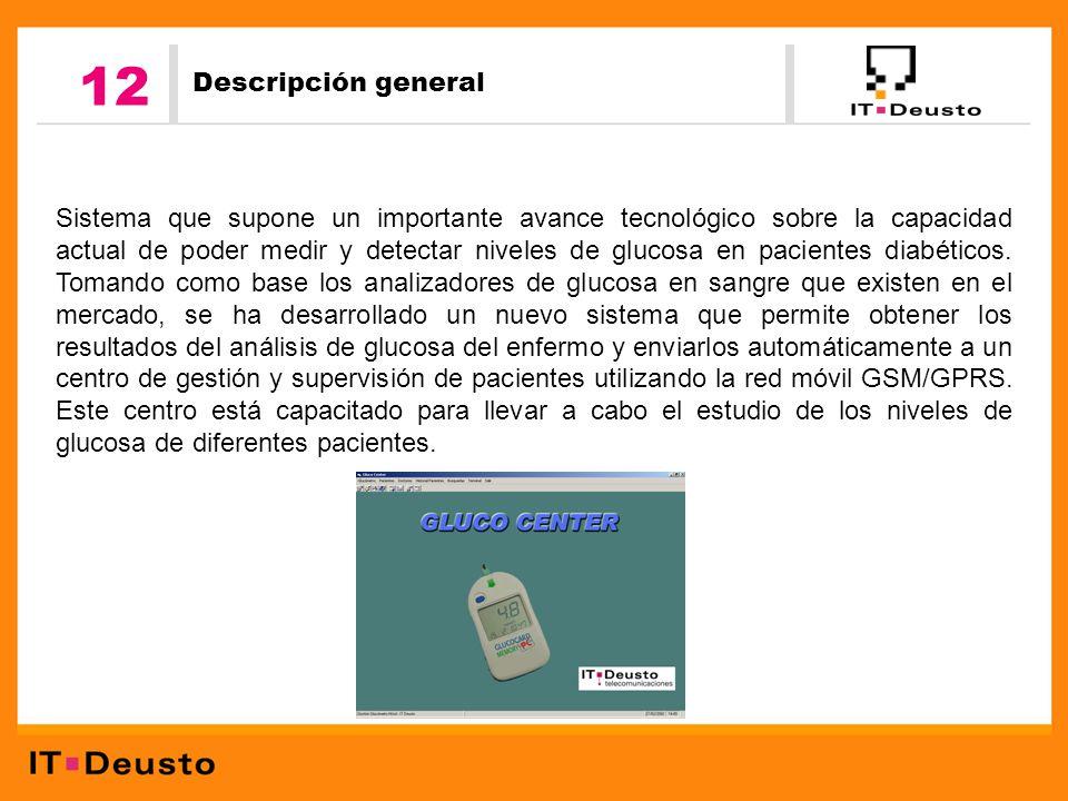 descripción de glucosa en sangre