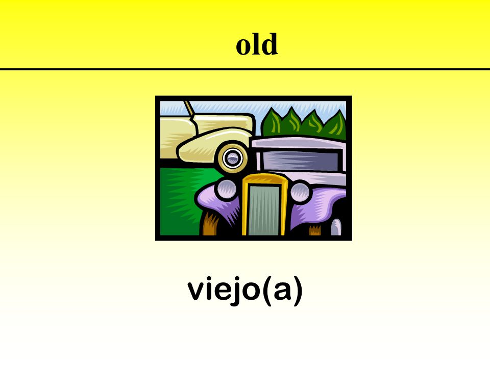 viejo(a) old