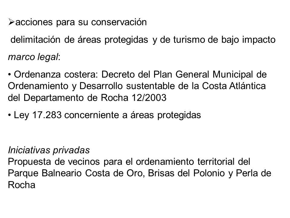 Conservación y restauración en bosques costeros del litoral Este ...