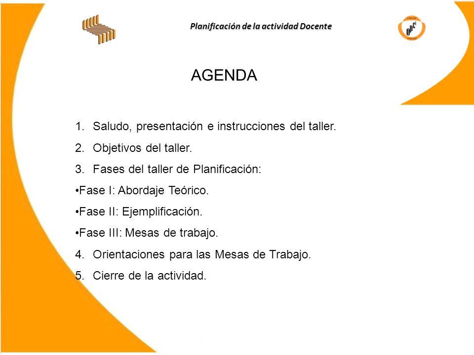Planificación de la actividad Docente Universidad Nacional ...