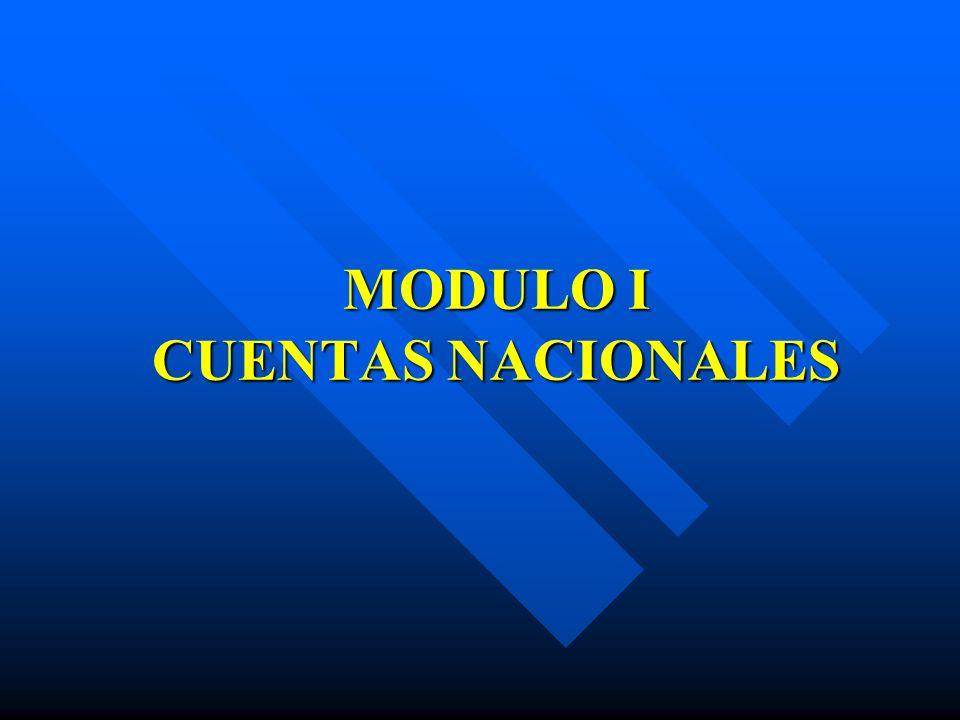 Modulo I Cuentas Nacionales Los Sectores Económicos Son