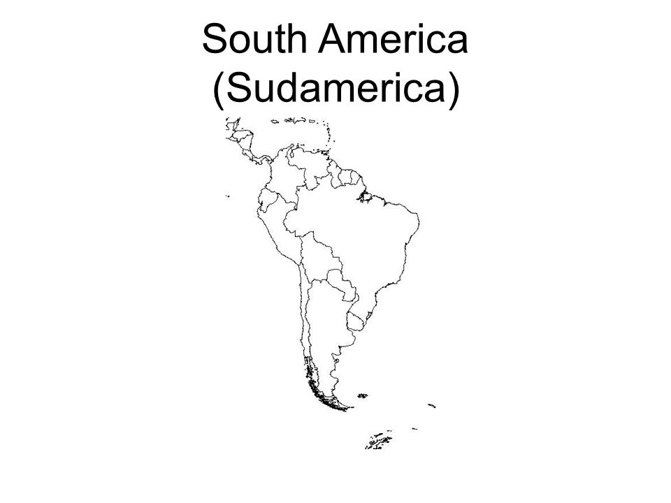 South America (Sudamerica)