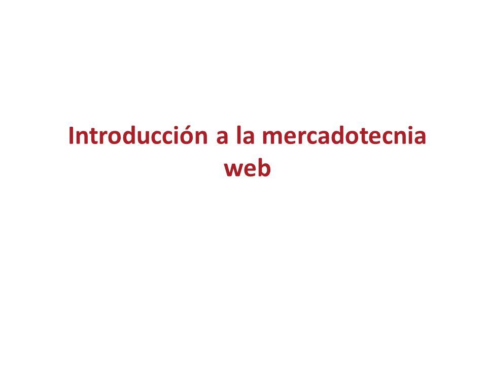 Introducción a la mercadotecnia web  Cadena de suministro ...